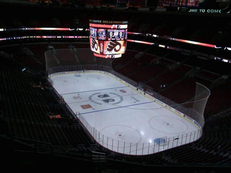 Seating view for Wells Fargo Center Section 205a Row 14 Seat 5
