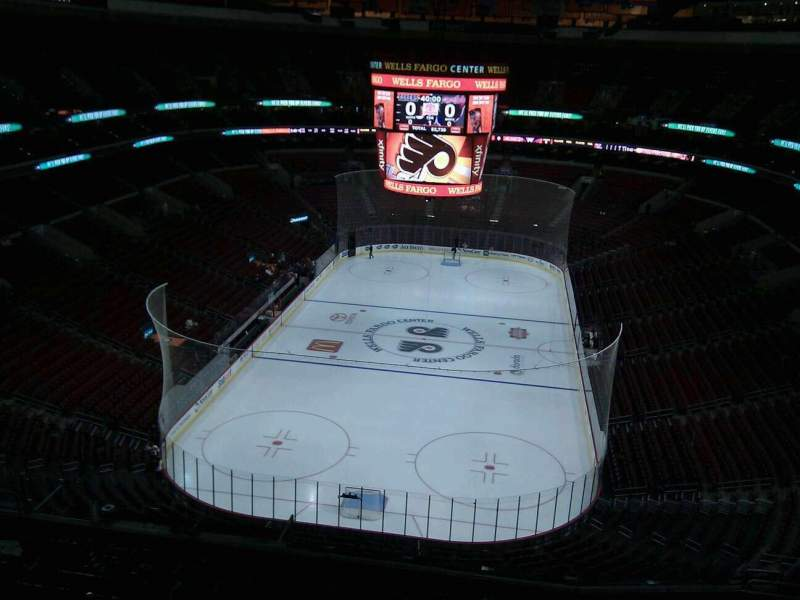 Seating view for Wells Fargo Center Section 207a Row 12 Seat 13