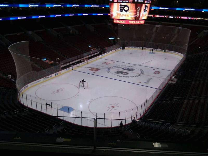 Seating view for Wells Fargo Center Section 209a Row 3 Seat 4