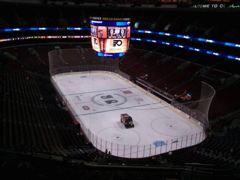Seating view for Wells Fargo Center Section 217a Row 13 Seat 13