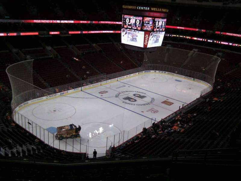 Seating view for Wells Fargo Center Section 221a Row 10 Seat 11