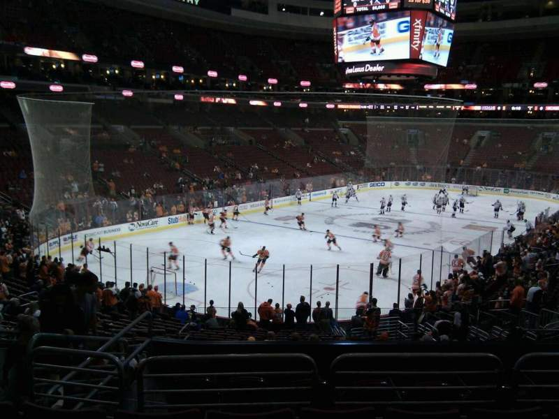Seating view for Wells Fargo Center Section 121 Row 25 Seat 9