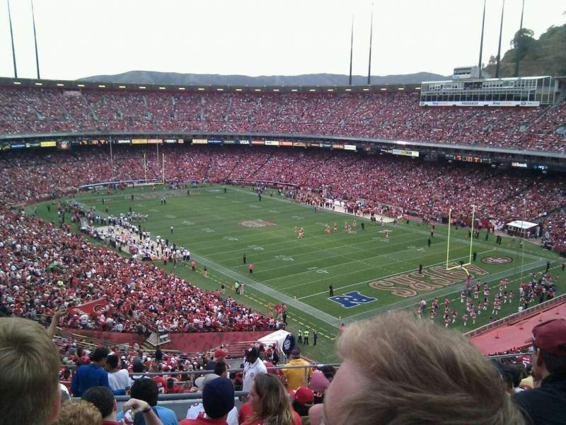 Seating view for Candlestick Park Section 61 Row 11 Seat 17