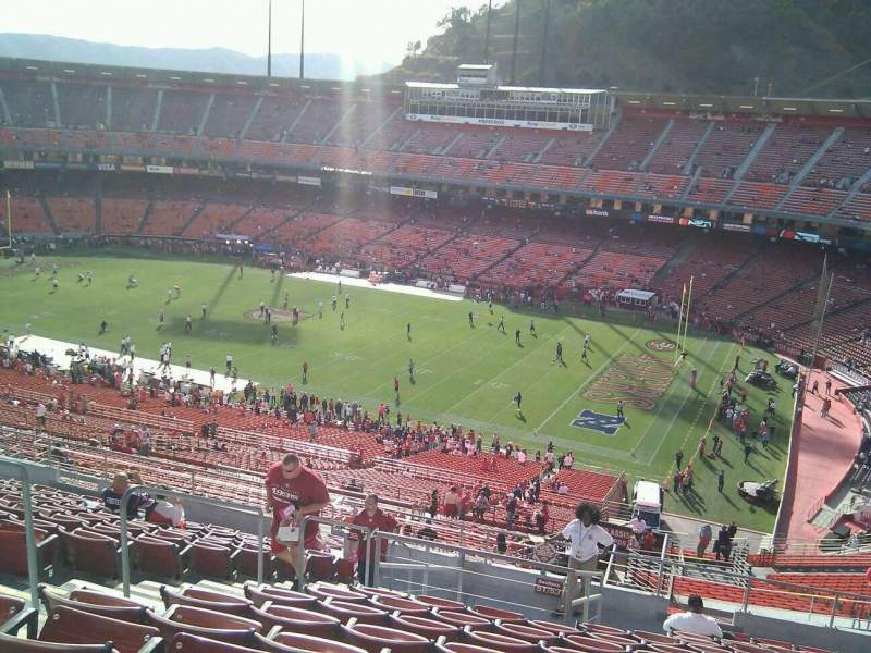 Seating view for Candlestick Park Section 53 Row 14 Seat 16