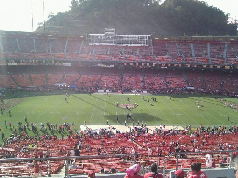 Seating view for Candlestick Park Section 39 Row 7 Seat 6