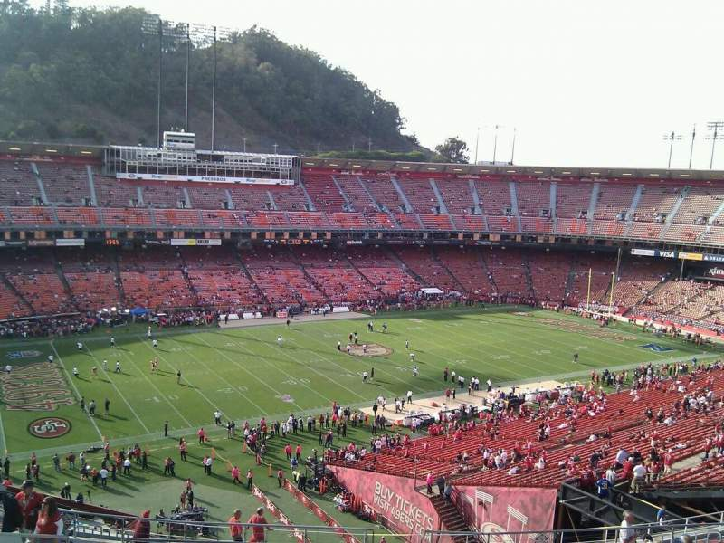 Seating view for Candlestick Park Section 29 Row 15 Seat 4