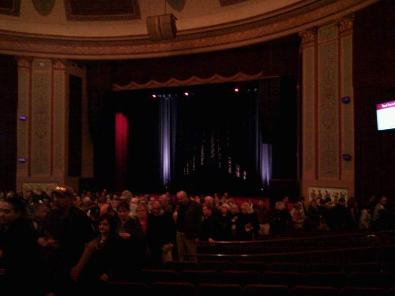Seating view for Strand-Capitol Performing Arts Center Section orchestra right Row v Seat 12