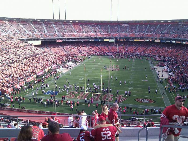 Seating view for Candlestick Park Section 50 Row 8 Seat 2