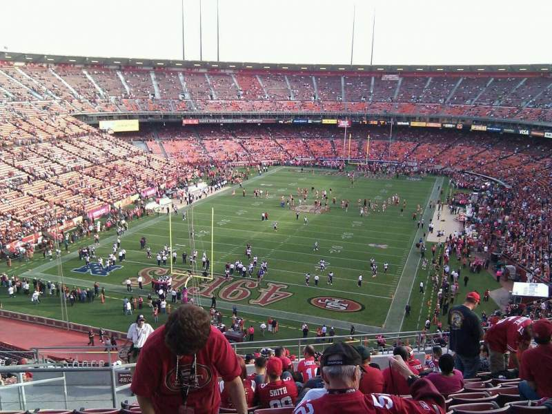 Seating view for Candlestick Park Section 46 Row 13 Seat 13