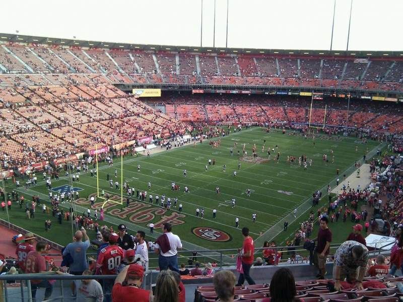 Seating view for Candlestick Park Section 42 Row 11 Seat 15