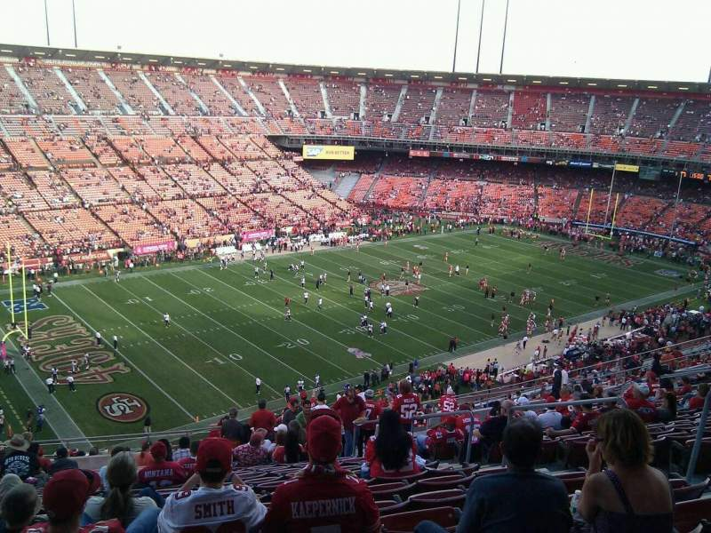 Seating view for Candlestick Park Section 36 Row 20 Seat 7