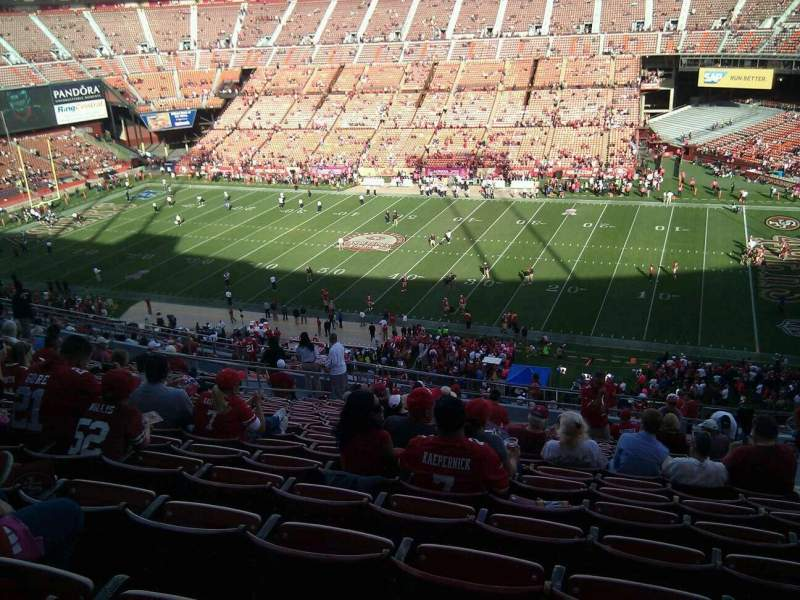 Seating view for Candlestick Park Section 16 Row 18 Seat 3