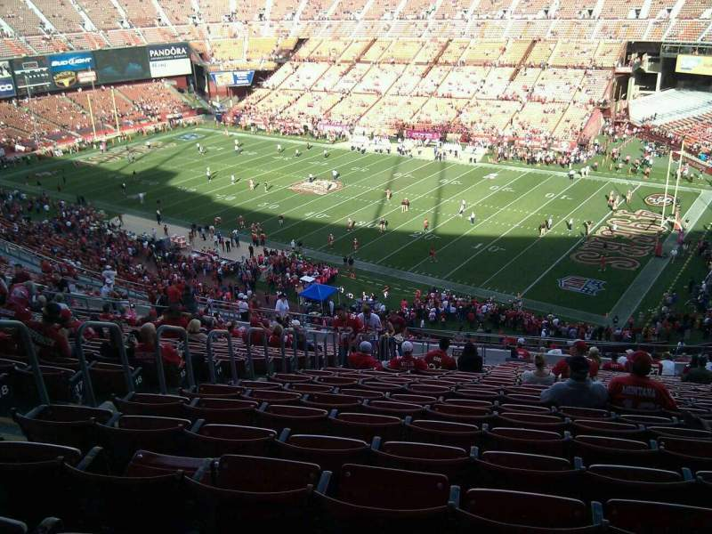 Seating view for Candlestick Park Section 10 Row 23 Seat 17