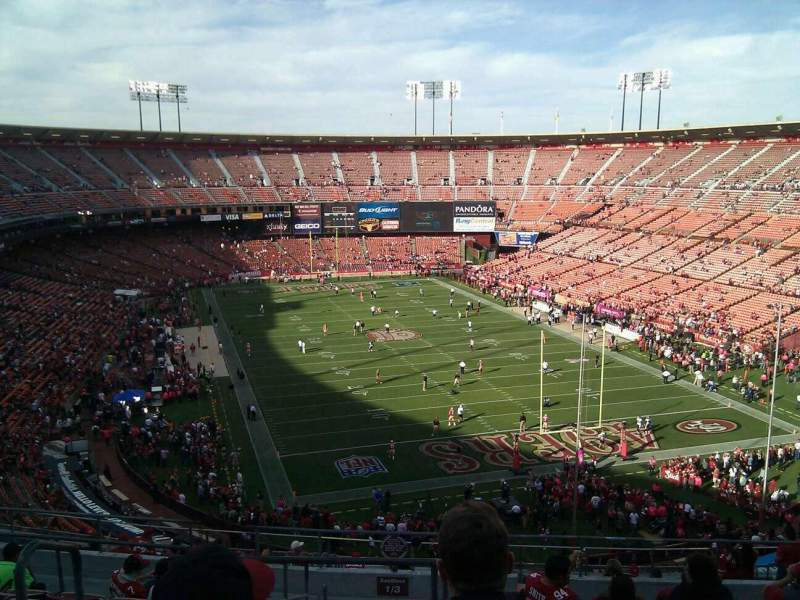 Seating view for Candlestick Park Section 3 Row 11 Seat 16