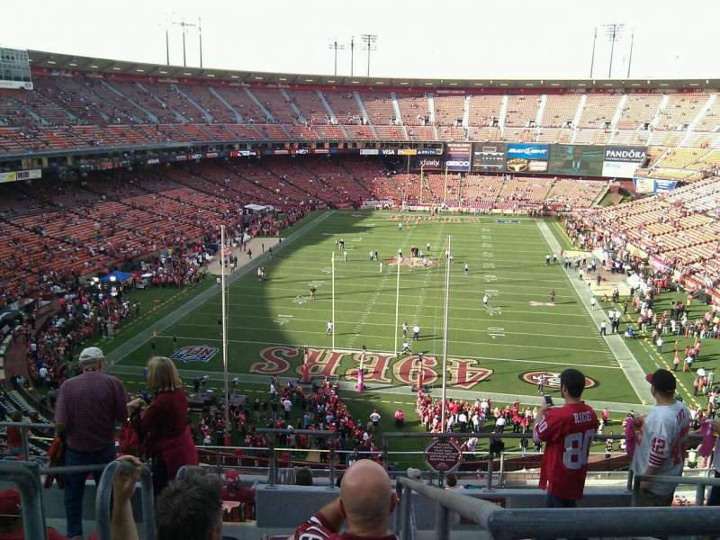 Seating view for Candlestick Park Section 11 Row 7 Seat 19