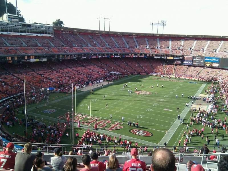 Seating view for Candlestick Park Section 15 Row 12 Seat 5