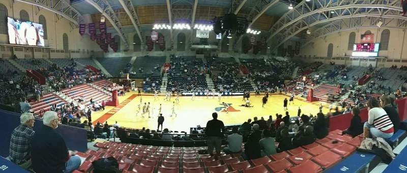 Seating view for Palestra Section 204 Row 11 Seat 14