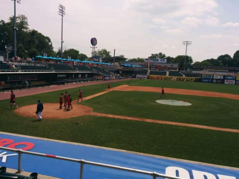 Seating view for FNB Field Section 112 Row 4 Seat 14