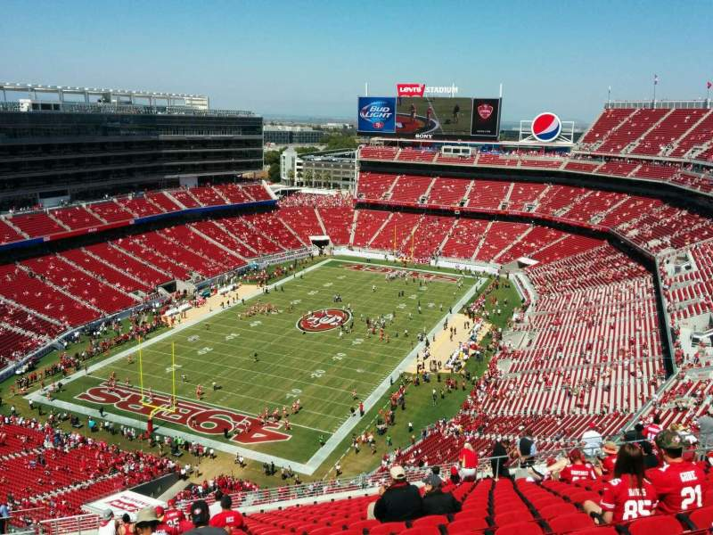 Seating view for Levi's Stadium Section 421 Row 19 Seat 19
