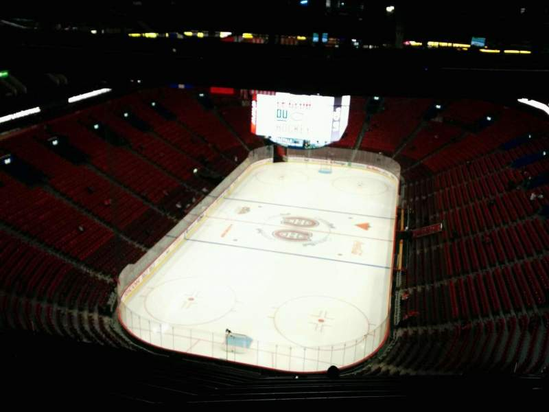 Seating view for Centre Bell Section 409 Row C Seat 11