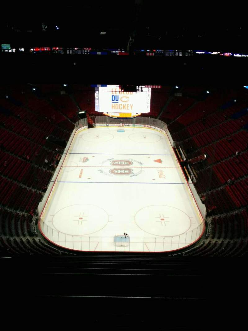 Seating view for Centre Bell Section 410 Row C Seat 8