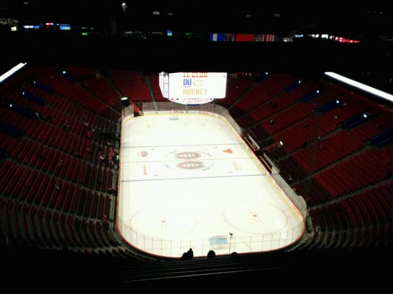 Seating view for Centre Bell Section 411 Row D Seat 13
