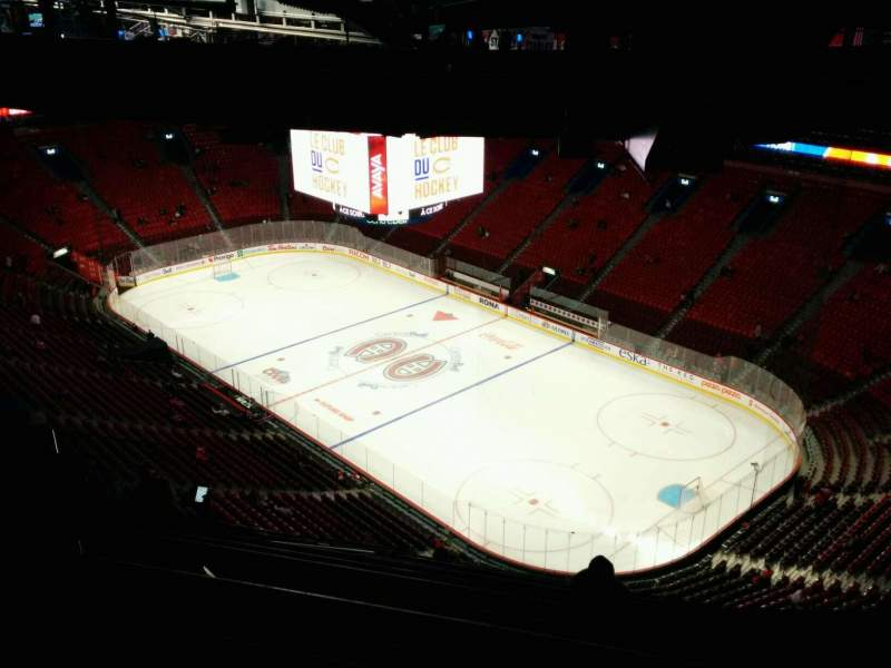 Seating view for Centre Bell Section 414 Row C Seat 9