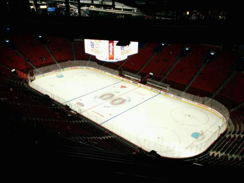 Seating view for Centre Bell Section 415 Row D Seat 5