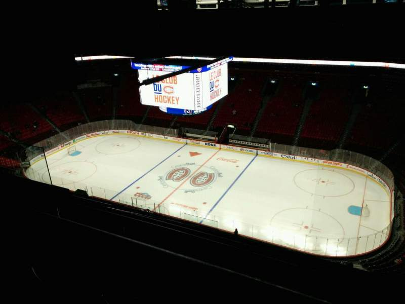 Seating view for Centre Bell Section 416 Row A Seat 15