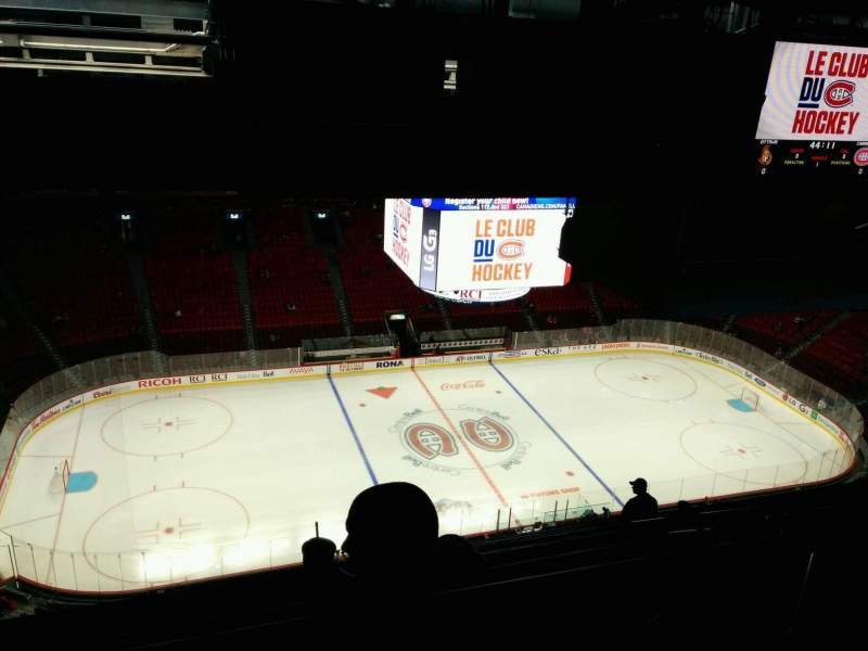 Seating view for Centre Bell Section 421 Row B Seat 11