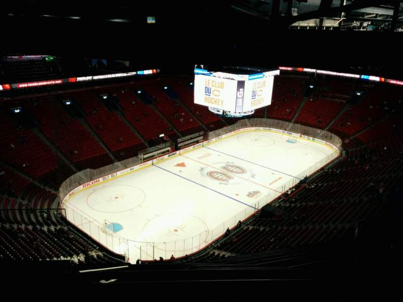 Seating view for Centre Bell Section 424 Row A Seat 14