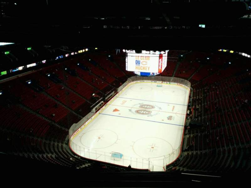 Seating view for Centre Bell Section 427 Row B Seat 5