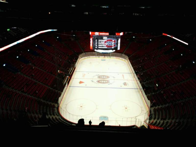 Seating view for Centre Bell Section 428 Row B Seat 11