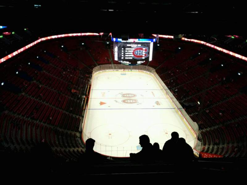 Seating view for Centre Bell Section 429 Row A Seat 6