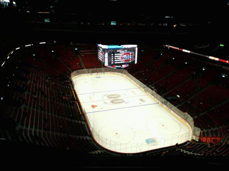 Seating view for Centre Bell Section 430 Row B Seat 8