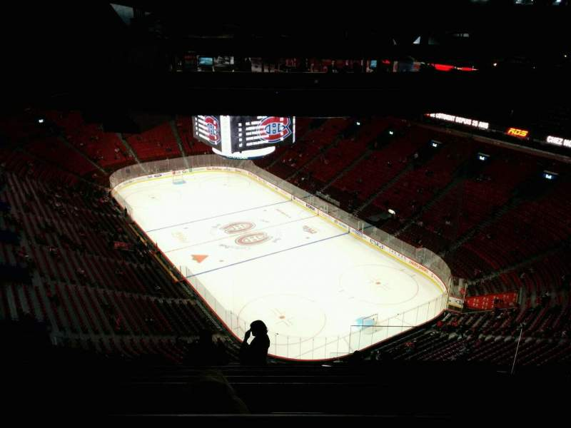 Seating view for Centre Bell Section 431 Row D Seat 4