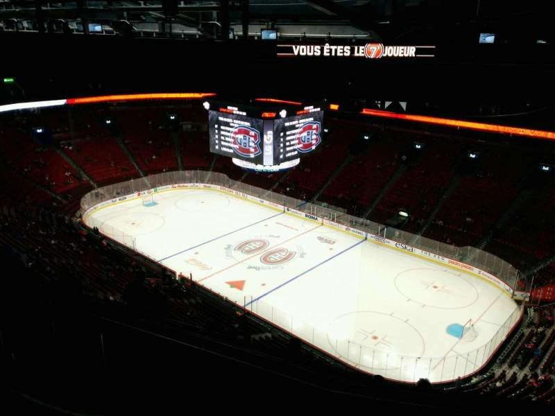 Seating view for Centre Bell Section 433 Row A Seat 11