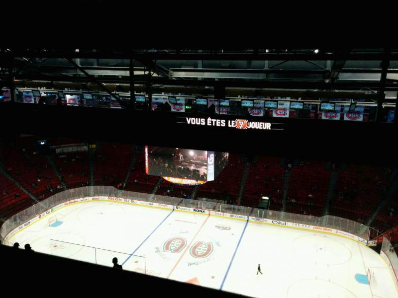 Seating view for Centre Bell Section 435 Row D Seat 8