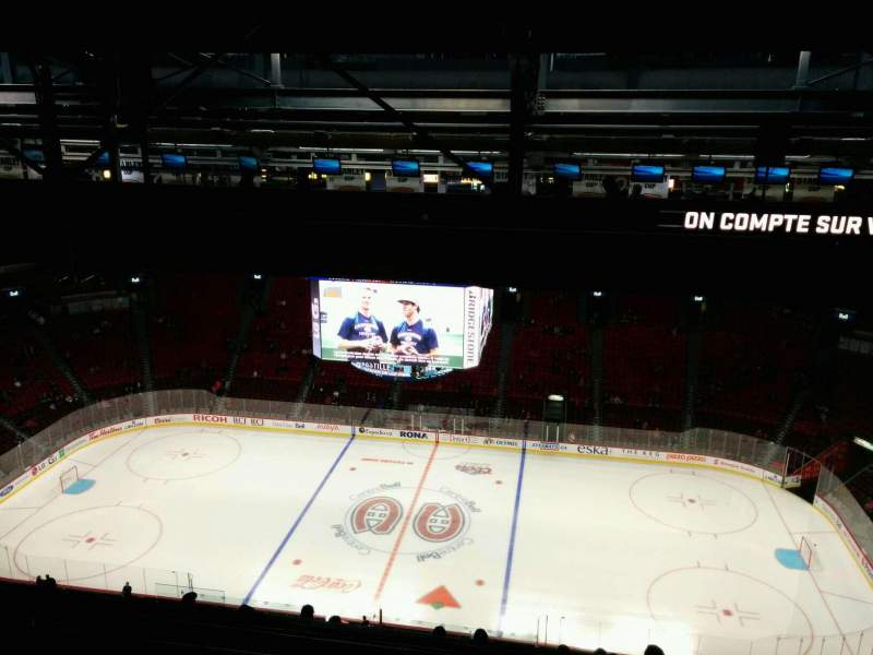 Seating view for Centre Bell Section 436 Row C Seat 6