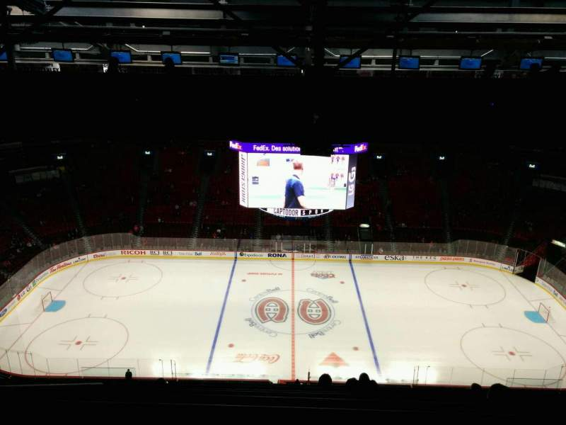 Seating view for Centre Bell Section 401 Row A Seat 10