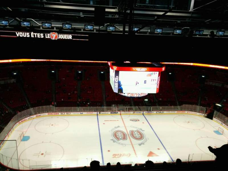 Seating view for Centre Bell Section 402 Row A Seat 14