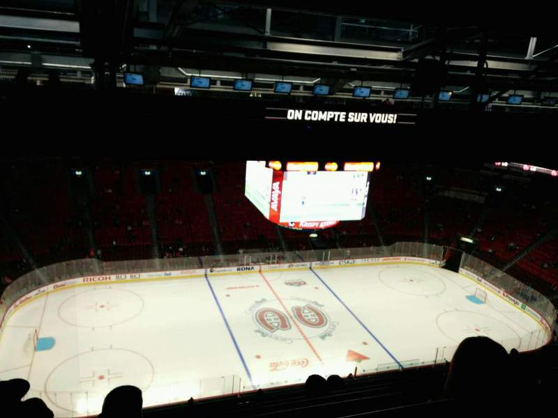 Seating view for Centre Bell Section 403 Row B Seat 13