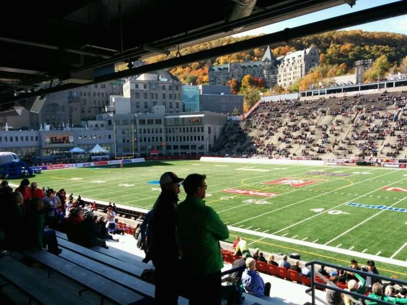 Percival Molson Memorial Stadium, section: t1, row: 16, seat: 3