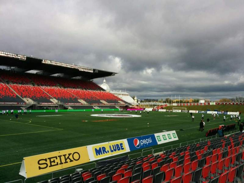 TD Place Stadium, section: W, row: 12, seat: 23