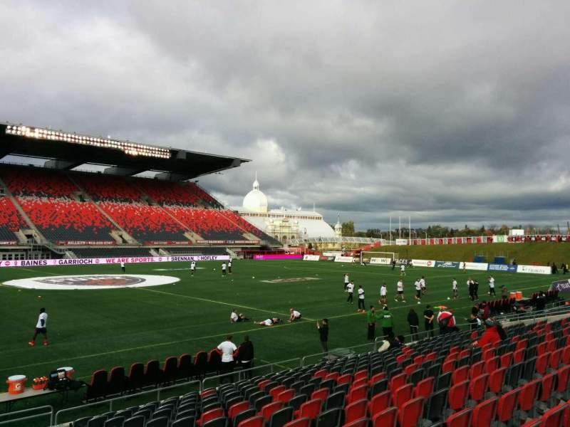 TD Place Stadium, section: U, row: 15, seat: 5