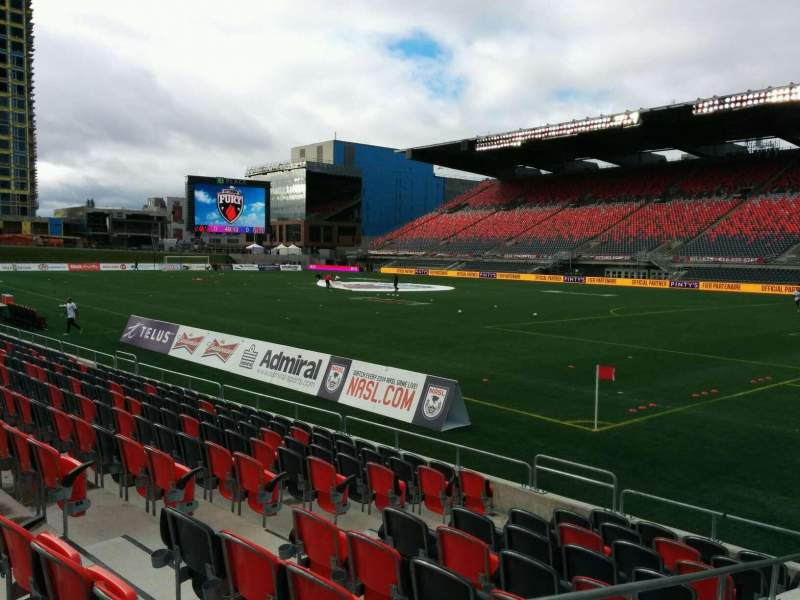 Seating view for TD Place Stadium Section M Row 10 Seat 12