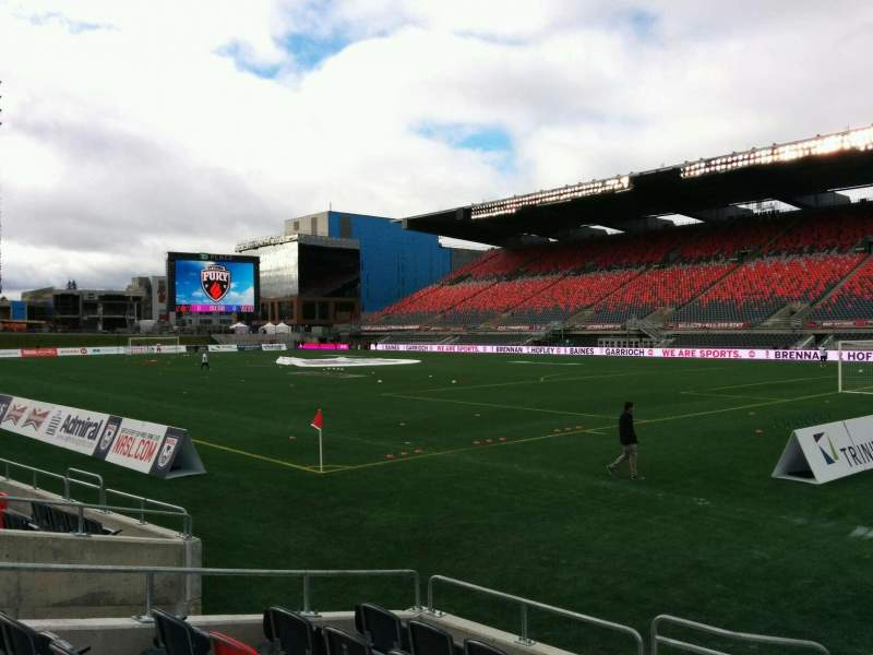 Seating view for TD Place Stadium Section L Row 7 Seat 13