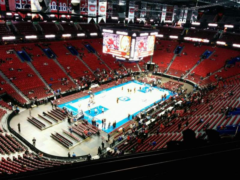 Seating view for Centre Bell Section 306 Row EE Seat 12