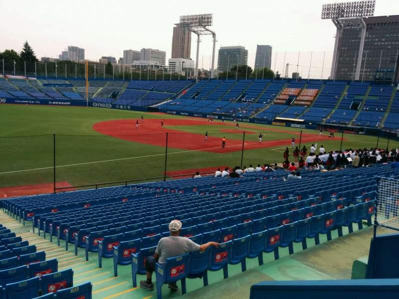 Seating view for Jingu Stadium Section 12 Row 29 Seat 185