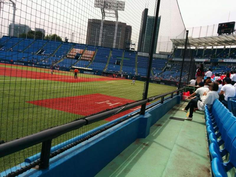 Seating view for Jingu Stadium Section 12 Row 6 Seat 168